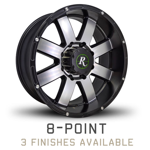 Remington 8-Point Truck/SUV Wheel