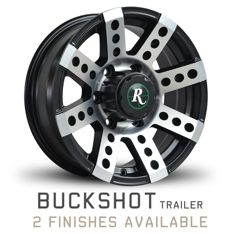 Remington Buckshot Trailer Wheel