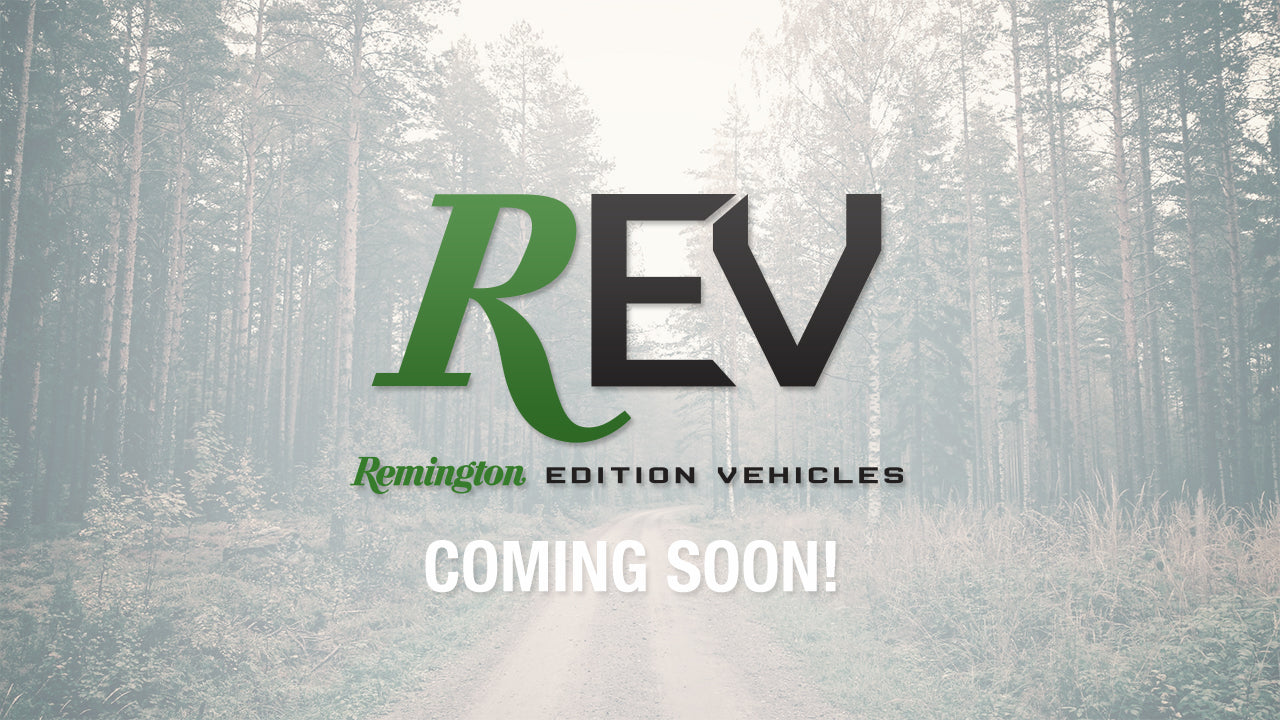 Coming Soon! Remington Edition Vehicles