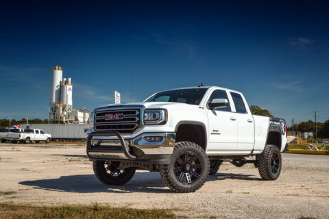 Remington Edition GMC Sierra on Buckshot Offroad kit