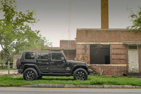 Gallery | JEEP Wrangler on 18x9 HOLLOW-POINT