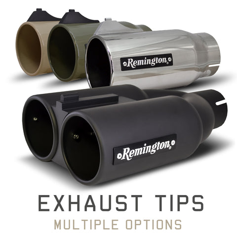 Remington Off-Road Exhaust Tips