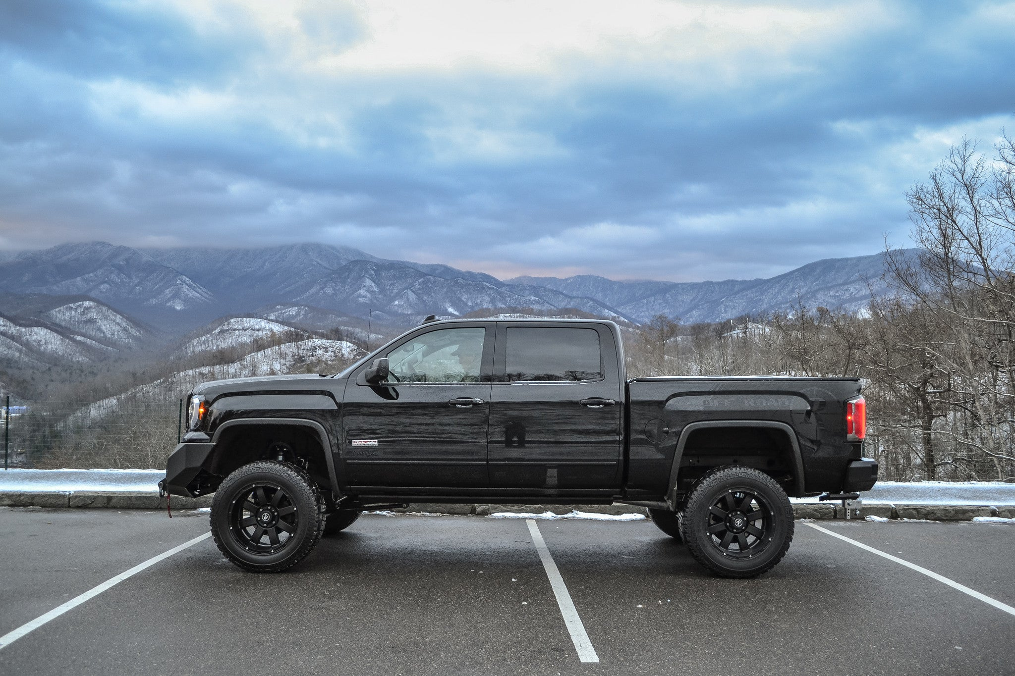 Gallery Gmc Sierra 1500 All Terrain Through The Smokies Photoshoot Remington Wheels