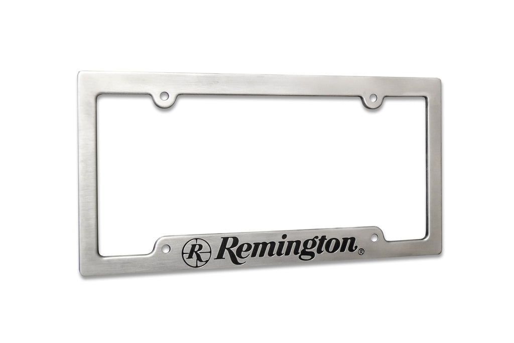 Remington Aluminum License Plate Frame