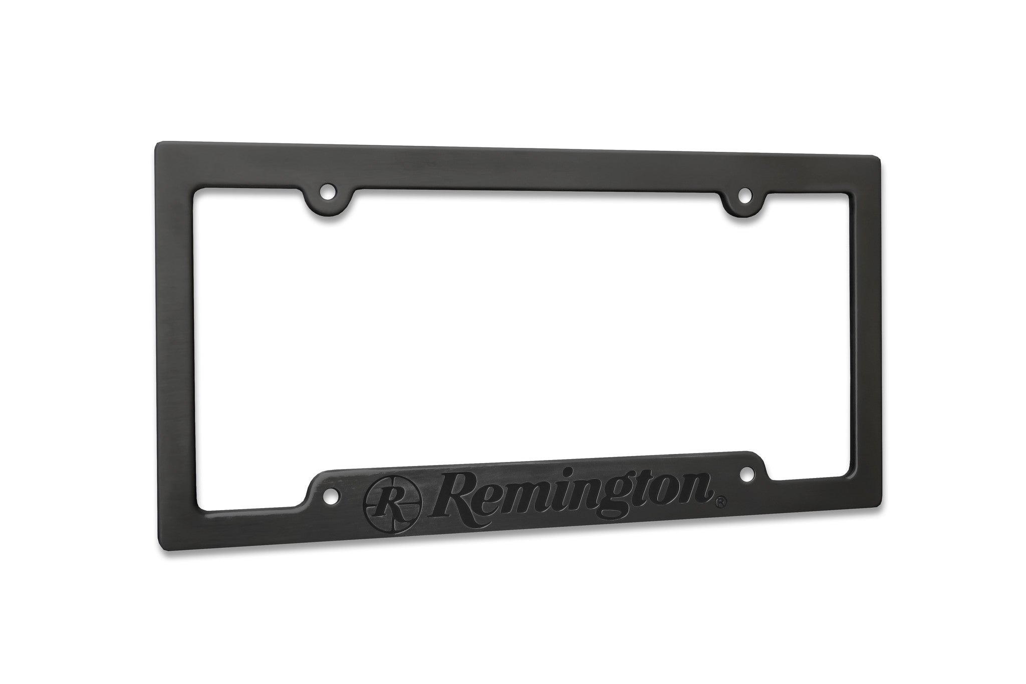 Buy the Remington Aluminum License Plate Frame Today Black or ...
