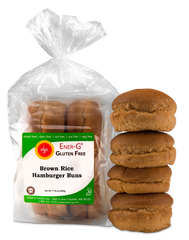 Ener-G Brown Rice Hamburger Buns