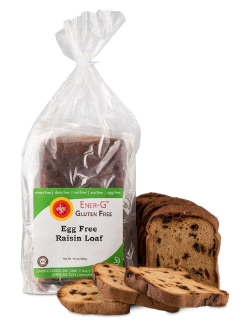 Ener-G Egg-Free Raisin Loaf