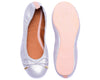 The Daily Ballerina Flats Silver