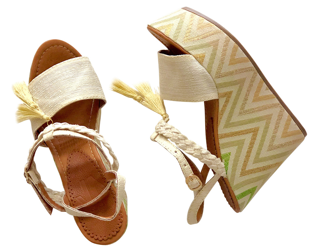 Espadrille Sandals Silvia Cobos Lace Up Braided