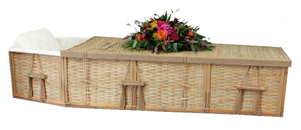 Bamboo Six-Point Coffin