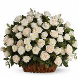 Heavenly Roses Basket