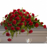 Love Remembered Casket Spray