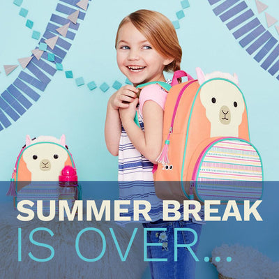 Summer Break Is Over... How To Get Your Kid Back To The Routine!