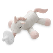 Ali+Oli Soft Plush Soothie Holder Unicorn (Pacifier NOT included) - Liapela.com | Modern Baby Products