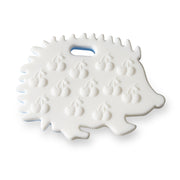 Ali+Oli Hedgehog Food Grade Silicone Teether in Mint