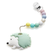 Ali+Oli Hedgehog Food Grade Silicone Teether in Mint - Liapela.com | Modern Baby Products