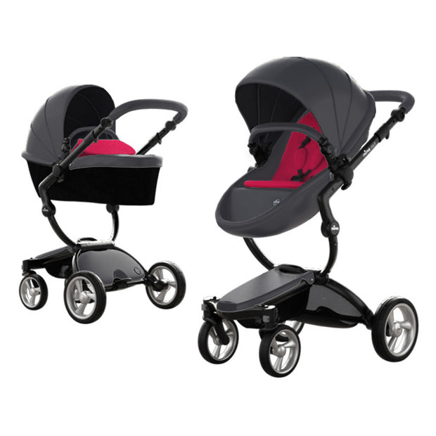 Mima Xari Stroller Black Chassis - Liapela.com | Modern Baby Products
