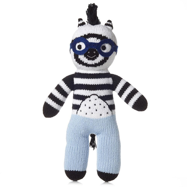 James the Zebra Stuffed Animal - Liapela.com | Modern Baby Products