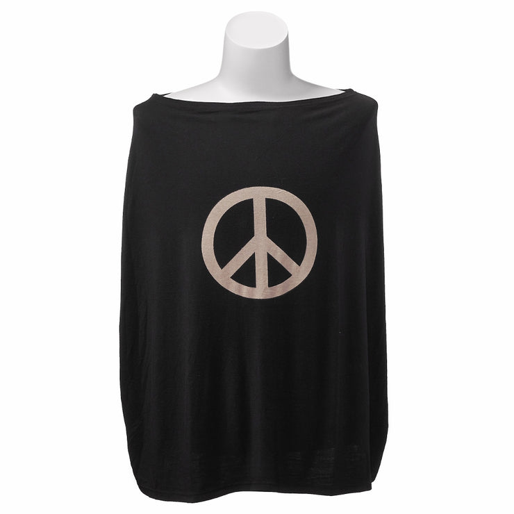 Mama Poncho™ Infant Car Seat Cover Peace Sign - Liapela.com | Modern Baby Products
