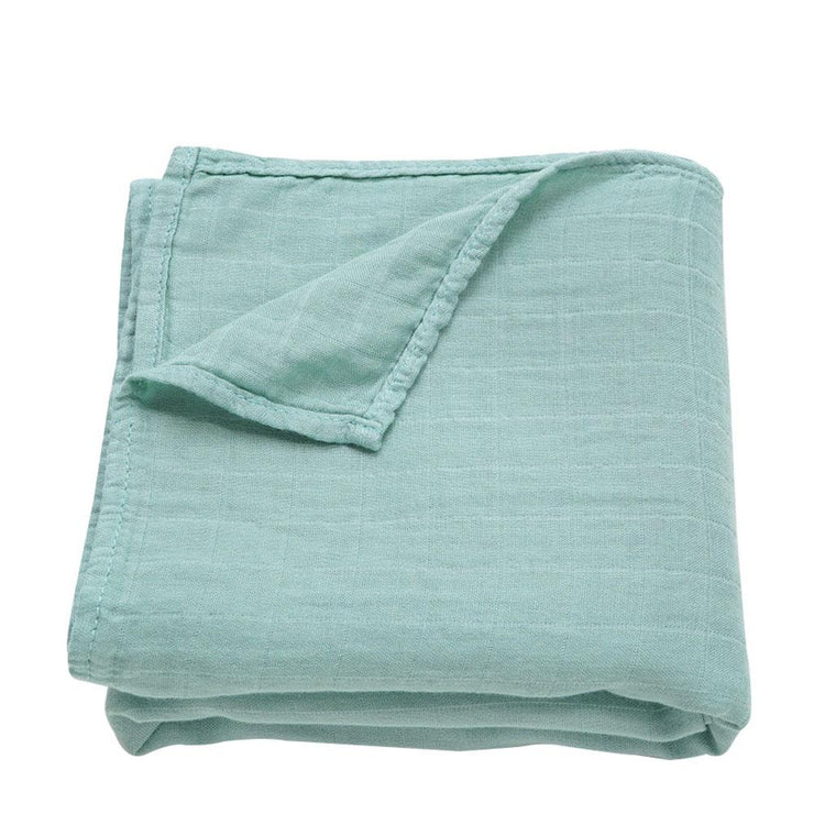 Muslin Swaddle Baby Blanket Extra Soft Bamboo & Cotton Sage