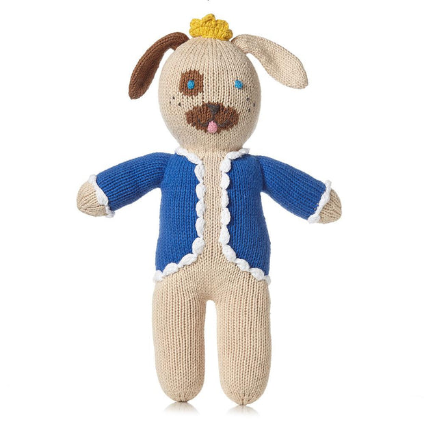Ali and Oli Plush Toys for Babies Nico the King Dog
