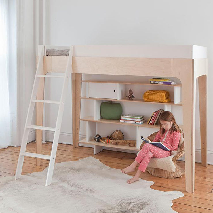 Perch Twin Size Loft Bed - Liapela.com | Modern Baby Products