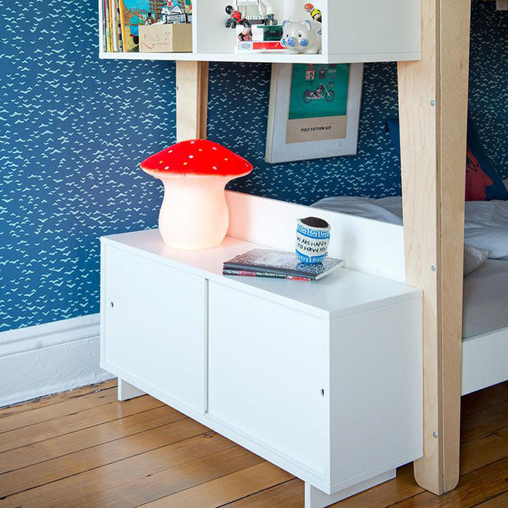 Perch Twin Size Storage Console Cabinet