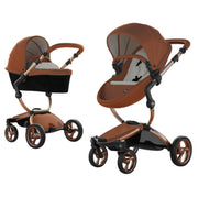 Mima Xari Stroller Rose Gold Chassis