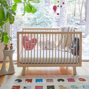 Sparrow Crib Natural Unfinished - Liapela.com | Modern Baby Products