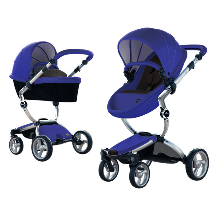 Mima Xari Stroller Aluminum Chassis - Liapela.com | Modern Baby Products