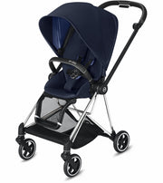Mios 2 Stroller complete Chrome with black details