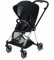 Mios 2 Stroller complete Chrome with black details - Liapela.com | Modern Baby Products