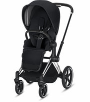 Priam 3 Complete Stroller Chrome/Black Frame - Liapela.com | Modern Baby Products