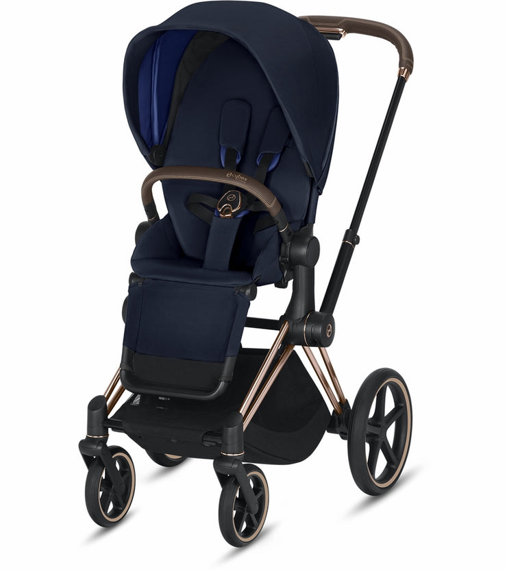 Priam 3 Complete Stroller Rose Gold Frame - Liapela.com | Modern Baby Products