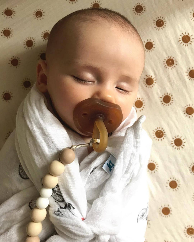 Ali+Oli Pacifier Clip (Natural)