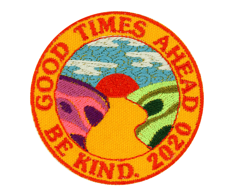 Good Times Ahead - PatchYaLater Patch - patches