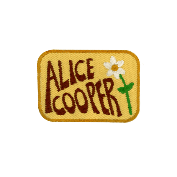 Alice Cooper II - PatchYaLater  - patches