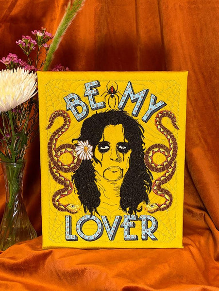 Alice Cooper Wall Hanging