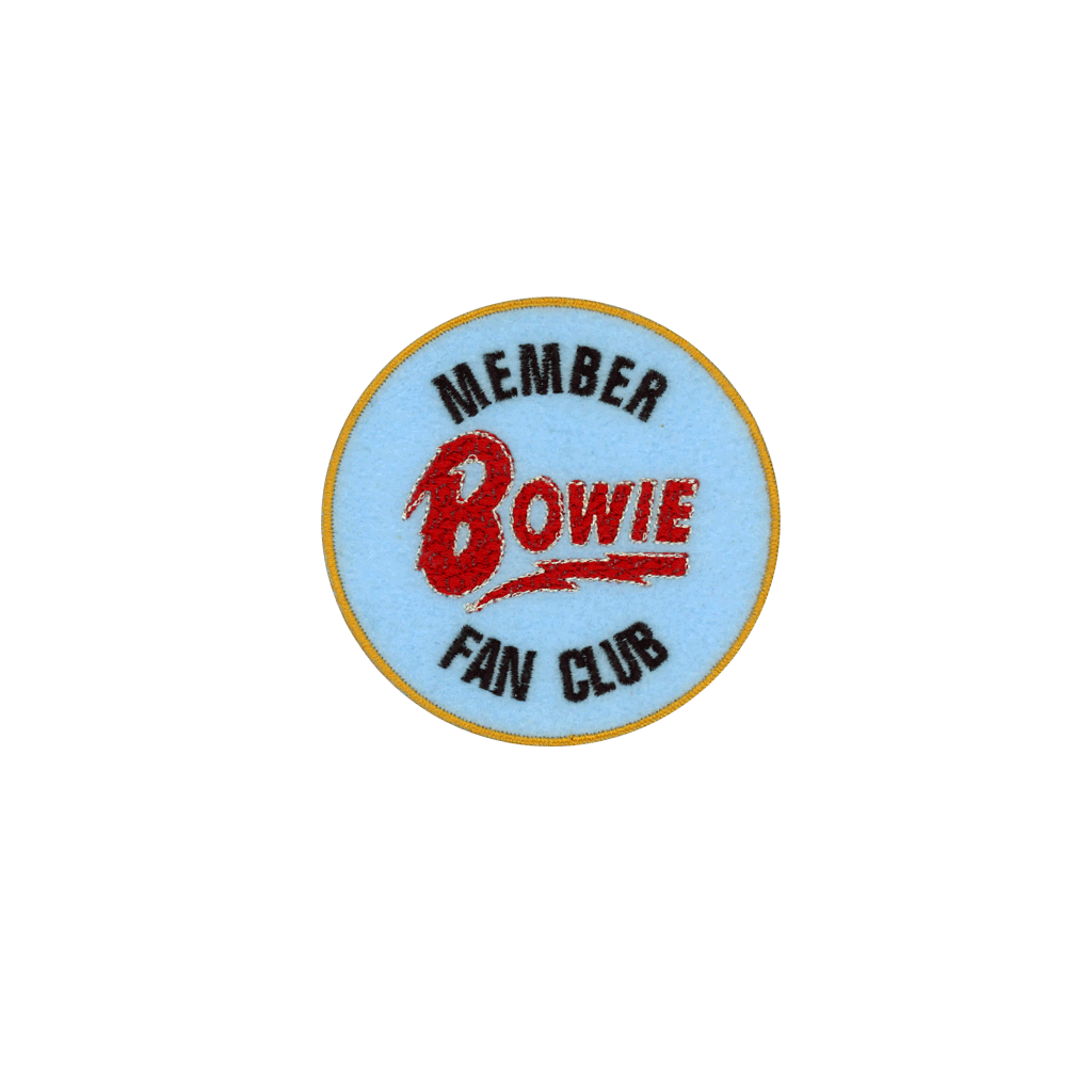Bowie Fan Club - PatchYaLater Patch - patches