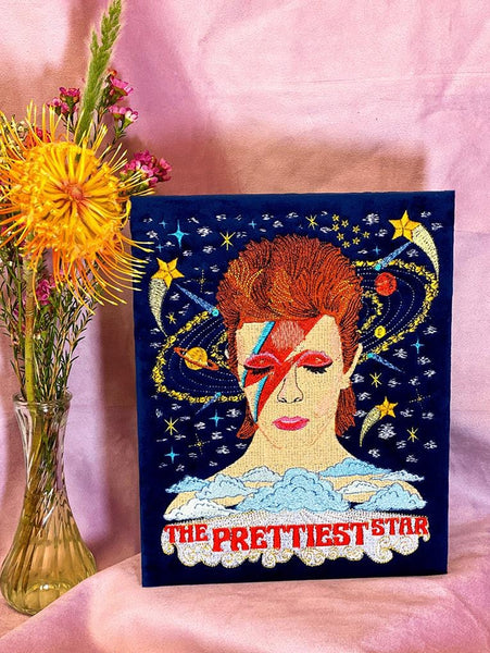 David Bowie Wall Hanging