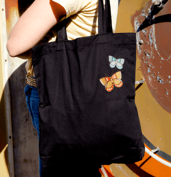 Butterfly Tote - PatchYaLater Tote - patches