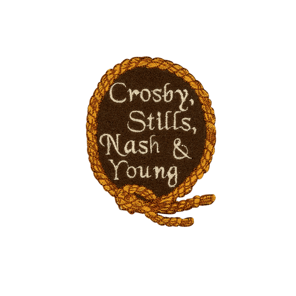 Crosby, Stills, Nash, & Young - PatchYaLater Patch - patches
