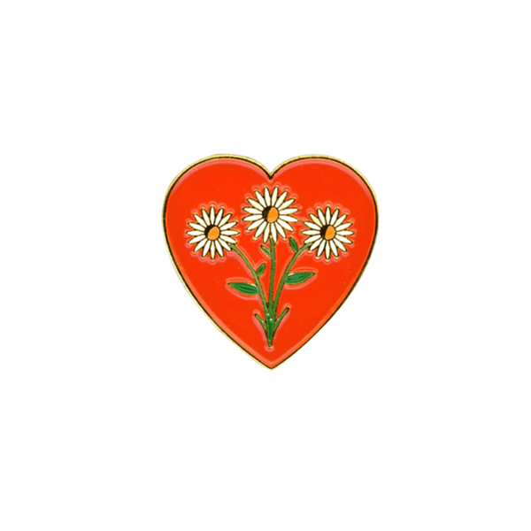 Daisy Love Pin - PatchYaLater Pin - patches