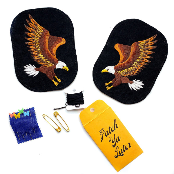 Eagle Elbow Patch Set!