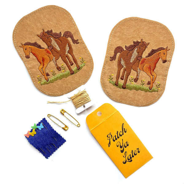Horses Elbow Patch Set!