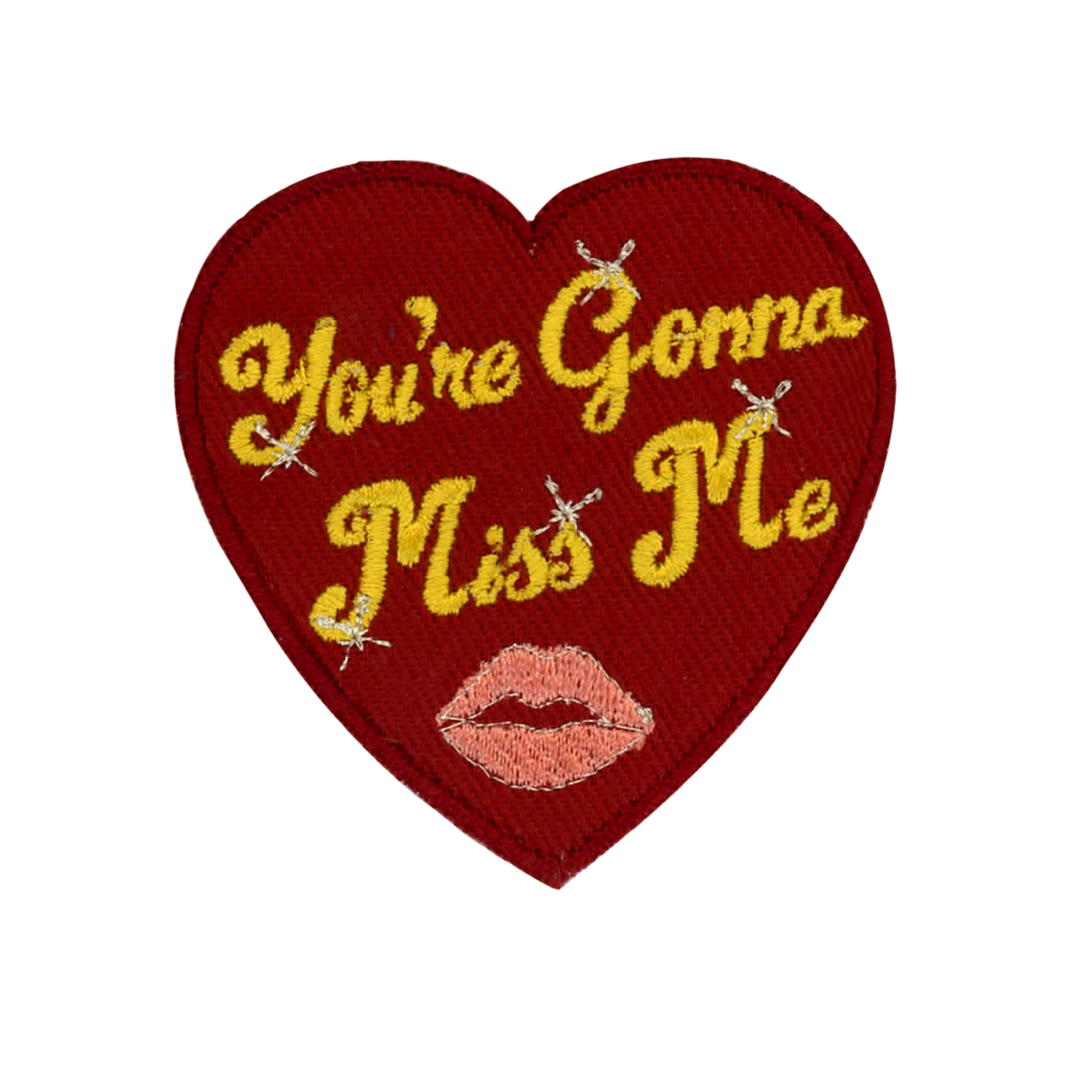 Miss Me - PatchYaLater Patch - patches