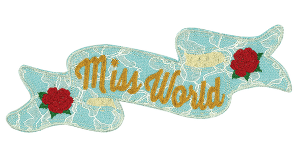 Miss World - PatchYaLater Patch - patches