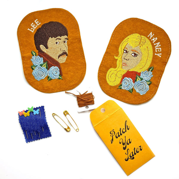 Nancy and Lee Elbow Patch Set!
