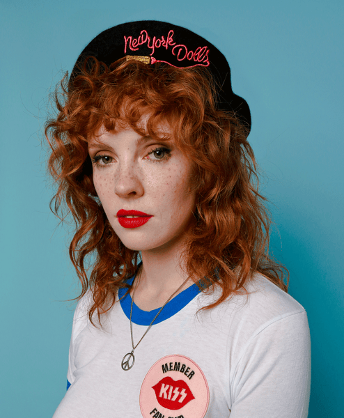 New York Dolls Beret - Black