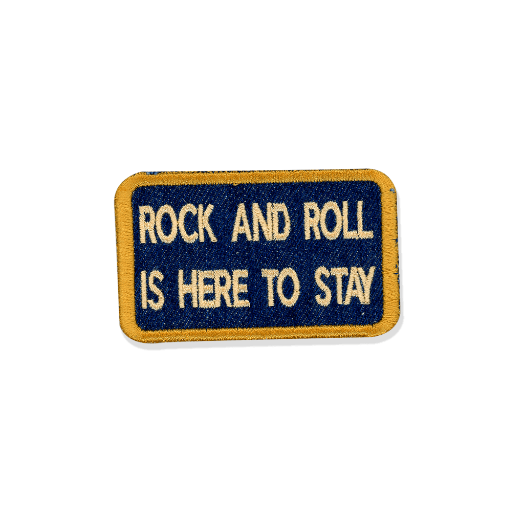 Rock and Roll - PatchYaLater Patch - patches